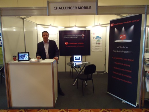 Challenger Booth at AmericasCom